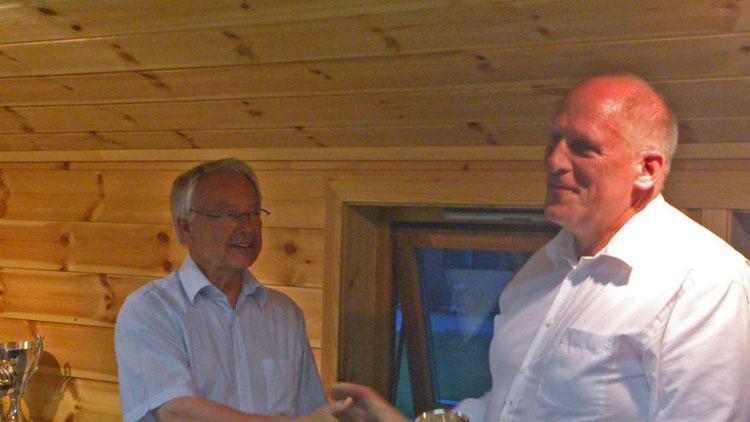 Kjeld Hjort 'varmede op' i Norge…