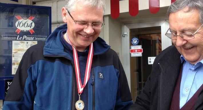 Sirius-vinder fik sin medalje i Lausanne