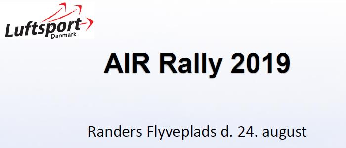 Invitation til Air Rally i Randers