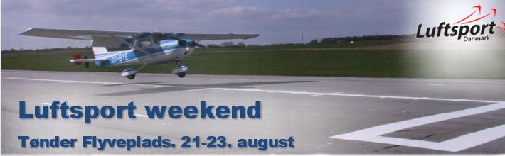 Luftsports-weekend på Tønder Flyveplads
